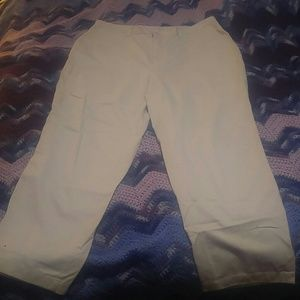 Covington Beige dress pants 18w